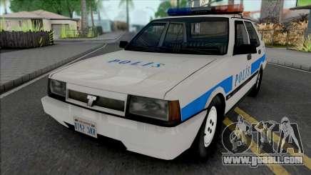 Tofas Sahin Polis Aracı SA Style for GTA San Andreas