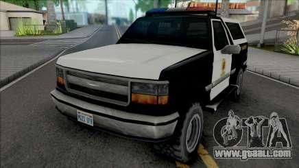 Vapid Riata 1992 Sheriff for GTA San Andreas
