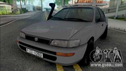 Toyota Corolla 1996 Sport for GTA San Andreas