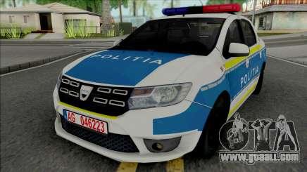 Dacia Logan 2020 Politia for GTA San Andreas
