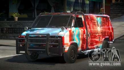 Chevrolet Van Custom S3 for GTA 4