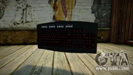 Tastatur Gun for GTA San Andreas