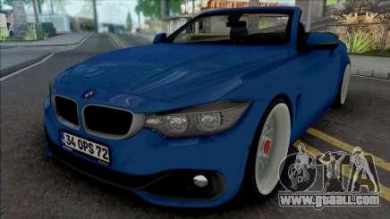 BMW 435i Cabrio (Air) for GTA San Andreas