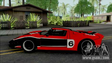 Ford GT Nikki (NFS Carbon) for GTA San Andreas