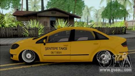 Fiat Linea Taksi (MRT) for GTA San Andreas