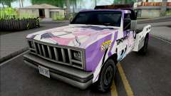 Tow Truck Tokoyami Towa Itasha