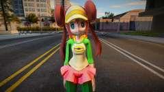 Rosa from Pokemon Masters 1 for GTA San Andreas