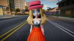 Pokemon Masters-Serena (XYXYZ anime version) for GTA San Andreas