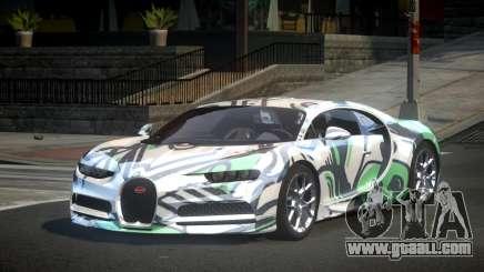 Bugatti Chiron U-Style S6 for GTA 4