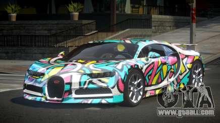 Bugatti Chiron U-Style S8 for GTA 4