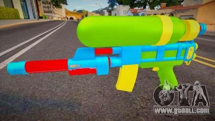 Squirt Gun for GTA San Andreas
