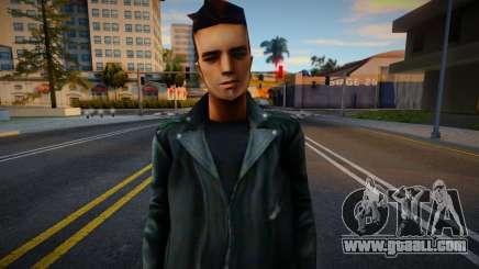 Claude Head GTA3 v2 for GTA San Andreas