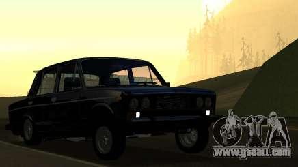 Vaz 2106 AzeLow for GTA San Andreas