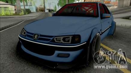 Peugeot Pars Rocket Bunny for GTA San Andreas