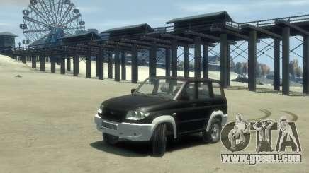 Uaz 3160 4x4 for GTA 4