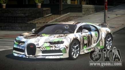 Bugatti Chiron U-Style S2 for GTA 4
