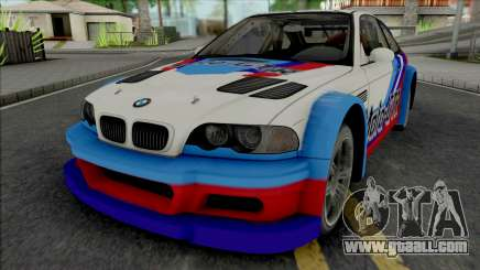 BMW M3 GTR (NFS Most Wanted 5-1-0) for GTA San Andreas
