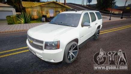 Chevrolet Tahoe LTZ 2008 (good textures) for GTA San Andreas