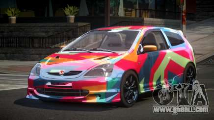 Honda Civic BS-U S6 for GTA 4