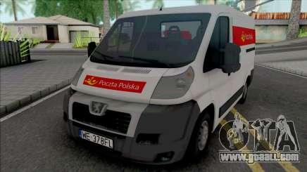 Peugeot Boxer Poczta Polska for GTA San Andreas