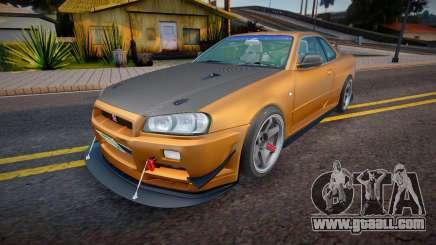 Nissan Skyline GT-R34 Wangan Spec for GTA San Andreas