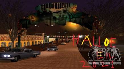 Halloween Of Santa Maria 2021 for GTA San Andreas