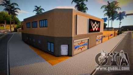 WWE GYM 2020 for GTA San Andreas