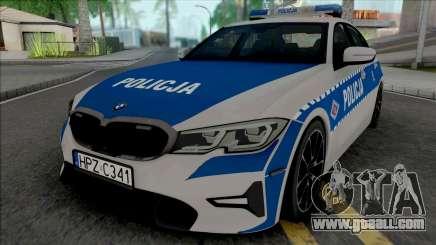 BMW 3-er G20 Policja for GTA San Andreas
