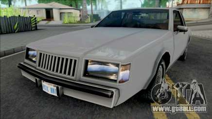 Improved Majestic for GTA San Andreas