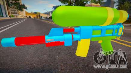Squirt Gun v2 for GTA San Andreas